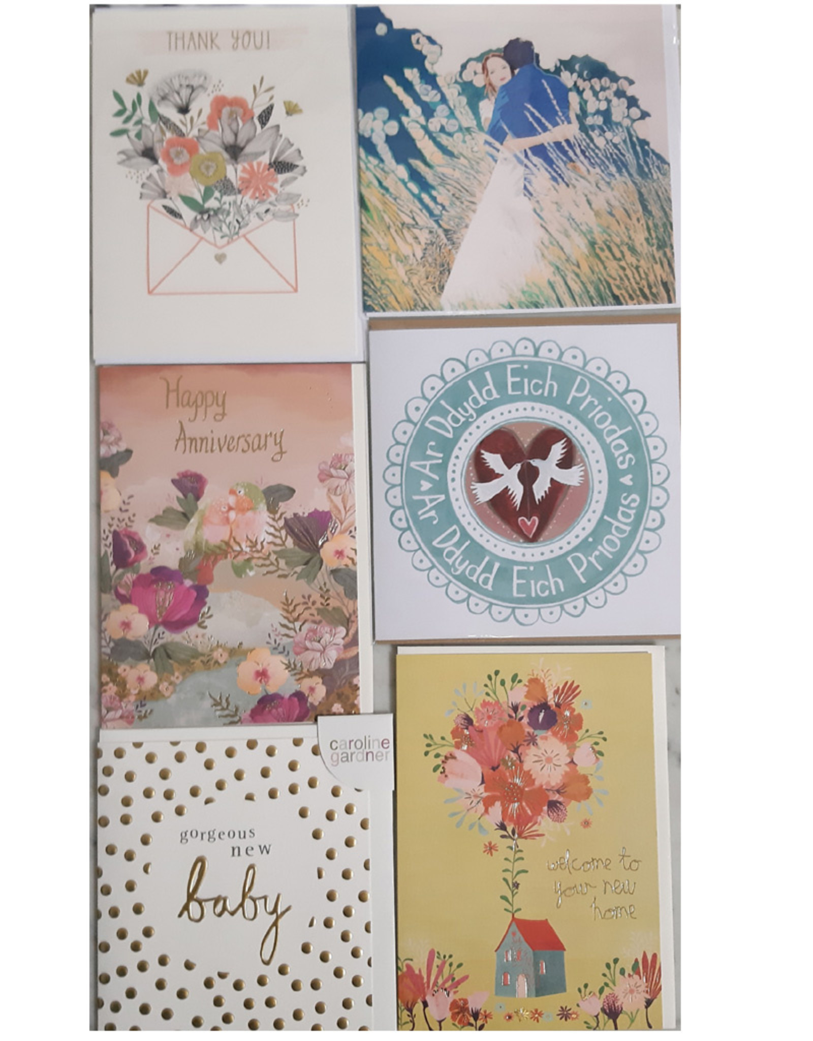 Occasion Cards set of 6
