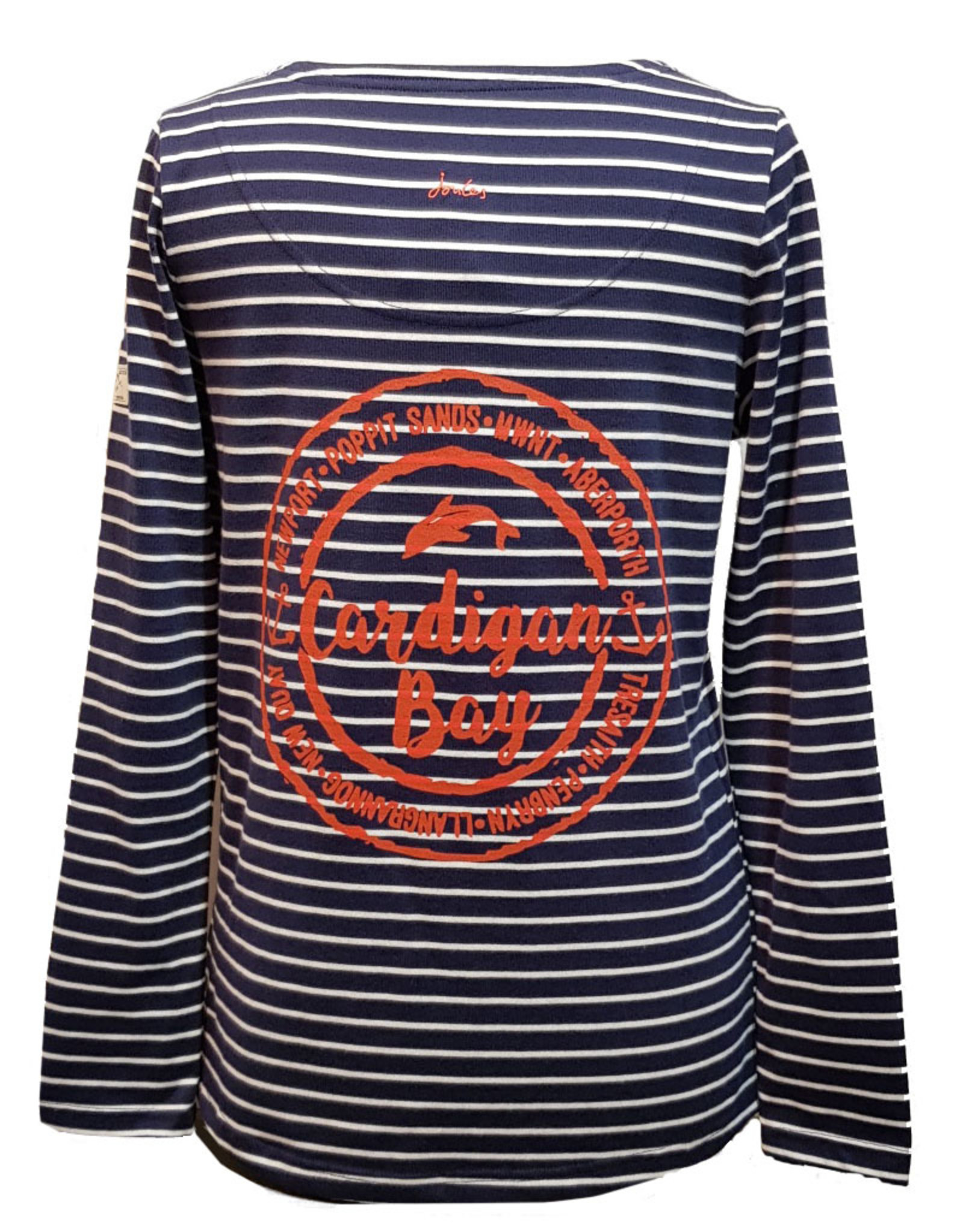 Joules Joules Harbour Long Sleeve Jersey Top Cardigan Bay Dolphin