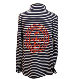 Joules Joules Pip Casual Half Zip Sweatshirt Cardigan Bay Dolphin
