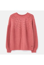 Joules Joules Jenna Knitted Pointelle Stitch Jumper