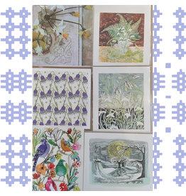 Spring Cards set of 6