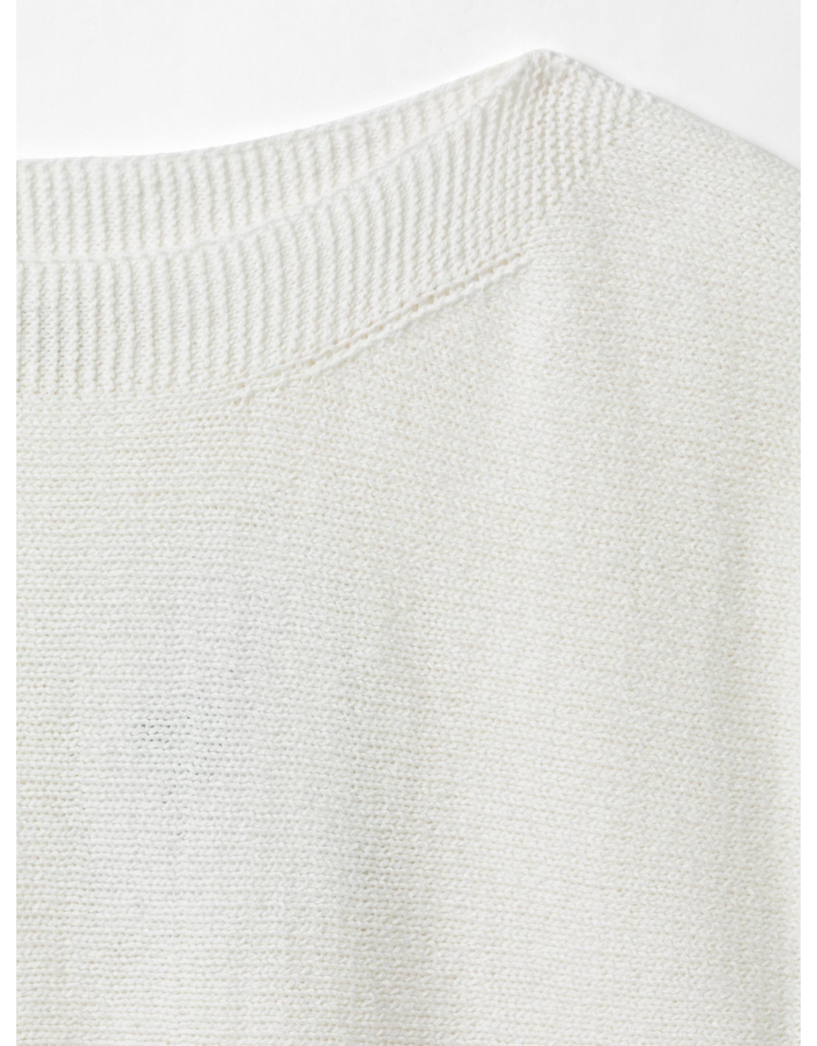 White Stuff White Stuff Rye Tape Short Sleeve Jumper