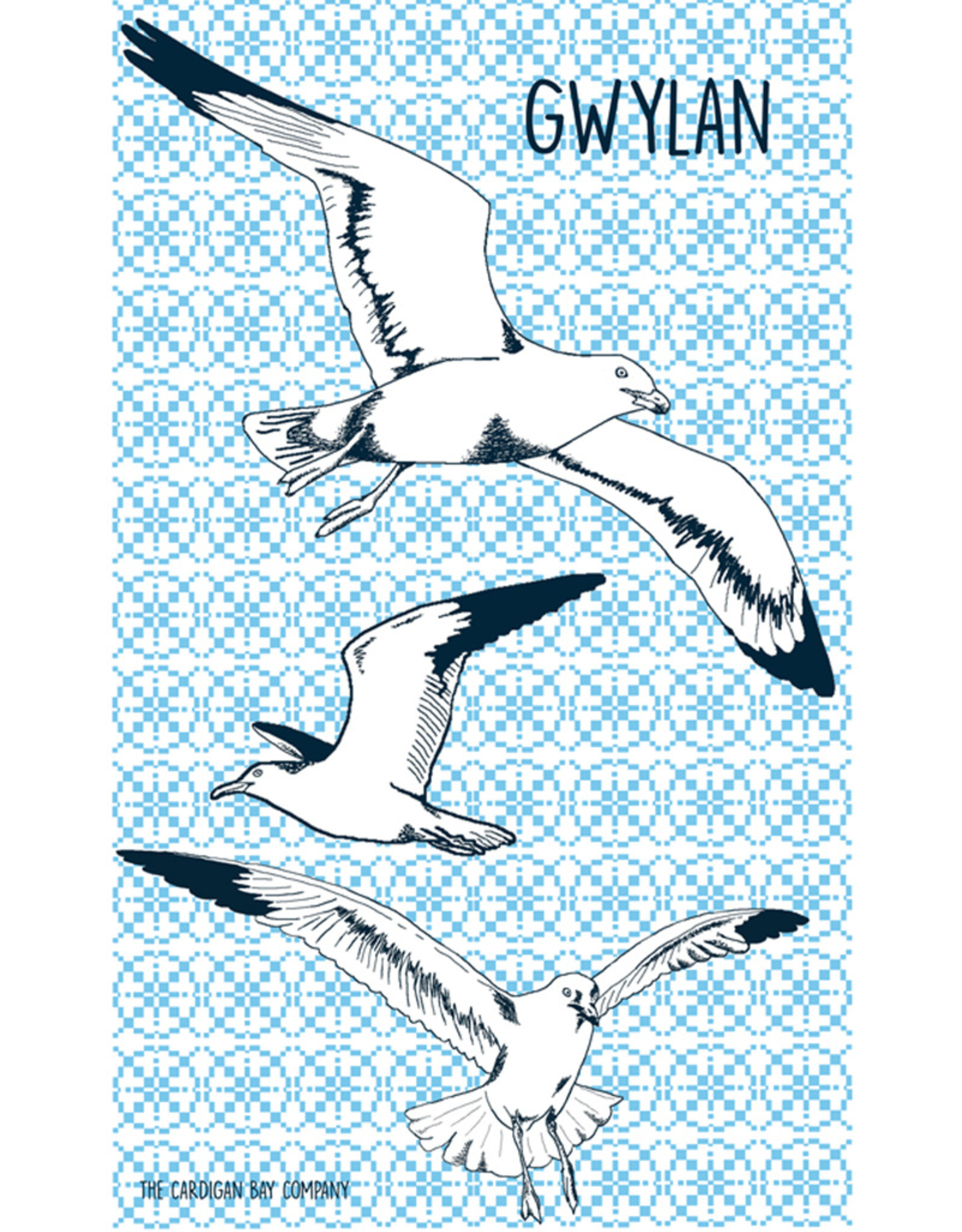 Cardigan Bay Company Gwylan Tea Towel