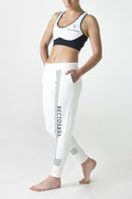 PERFORMANCE COLLECTION Linea White sports bra