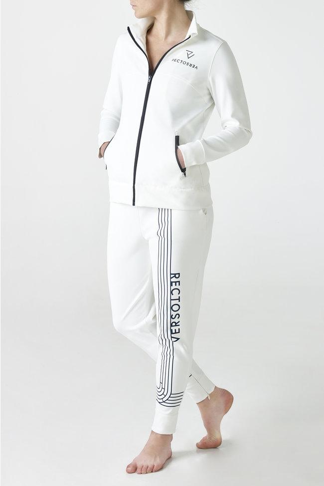 Linea White Track Vest