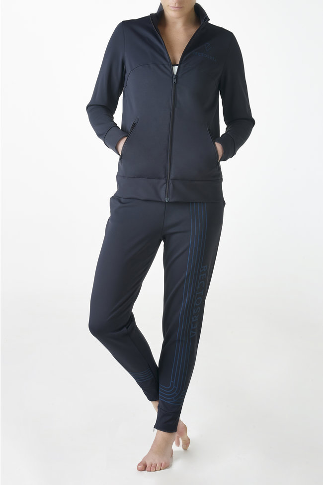 Linea blue track vest