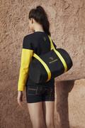 SPACE COLLECTION Linea Black Duffel Bag
