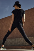 PERFORMANCE COLLECTION Blue shadow legging