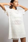 RECTO VERSO Creamy Dress