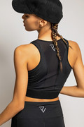 RECTO VERSO Black Out Sports Bra