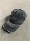 RECTO VERSO Cap Vintage Black