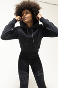 RECTO VERSO Black Out Hoodie