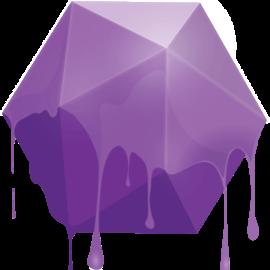 muk Vivid Direct Dye Deep Purple