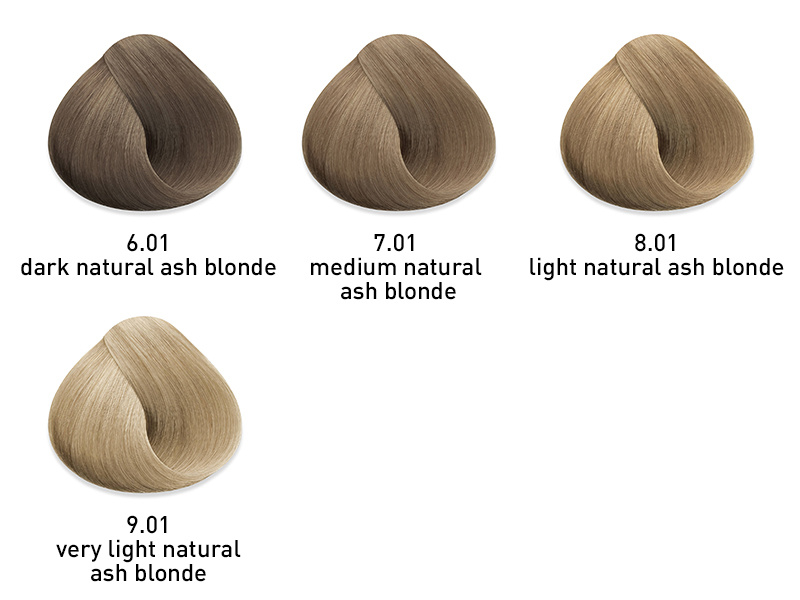muk haarkleuring Natural Ash
