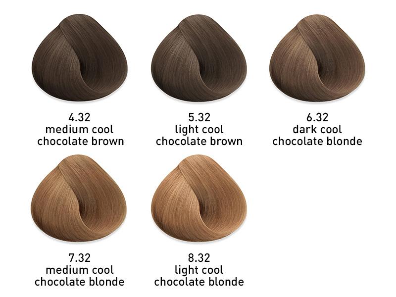muk hybrid cream hair color cool chocolate