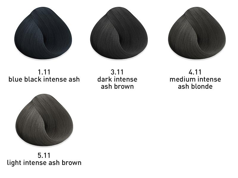 muk Hybrid cream hair colour Intense Ash