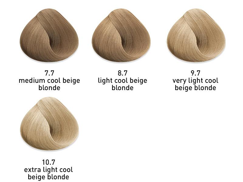 muk hybrid cream hair color cool beige
