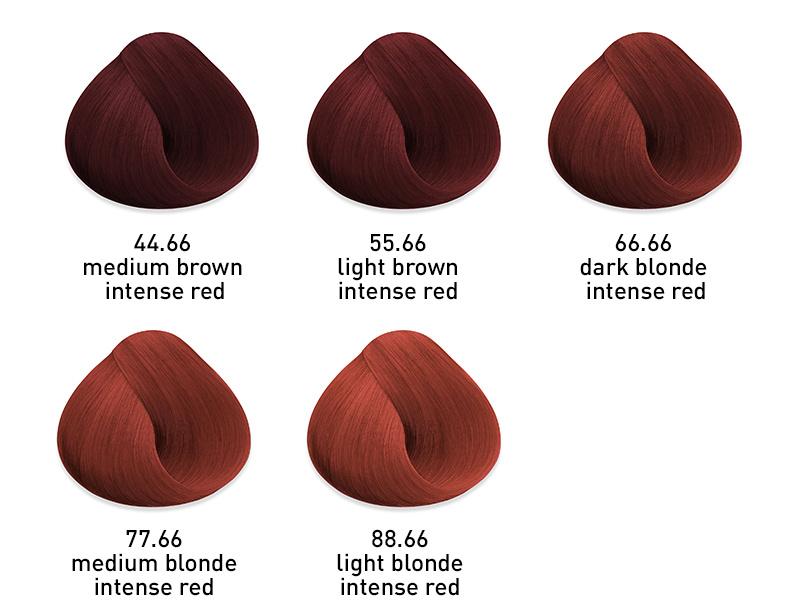 muk hybrid cream hair colour intense red