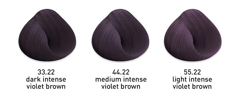 muk hybrid cream hair color intense violet