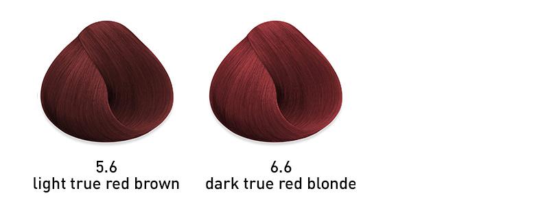 muk hybrid cream hair color true red