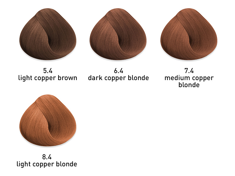 muk hybrid cream hair color copper