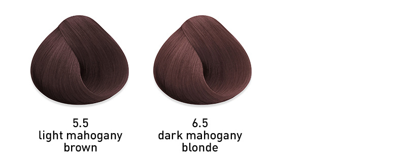 muk hybrid cream hair color mahogany