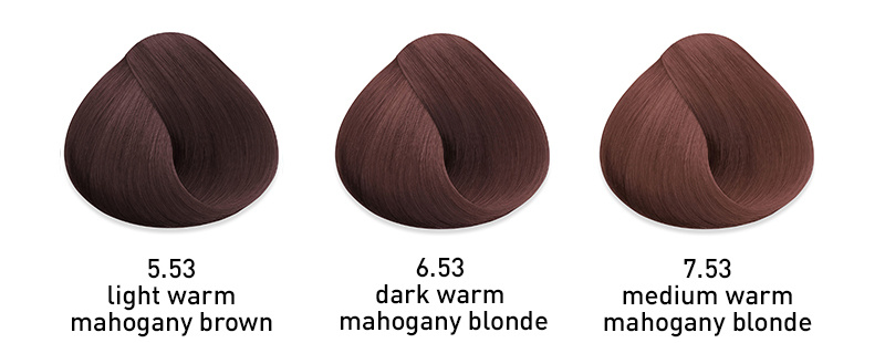 muk hybrid cream hair color warm mahogany