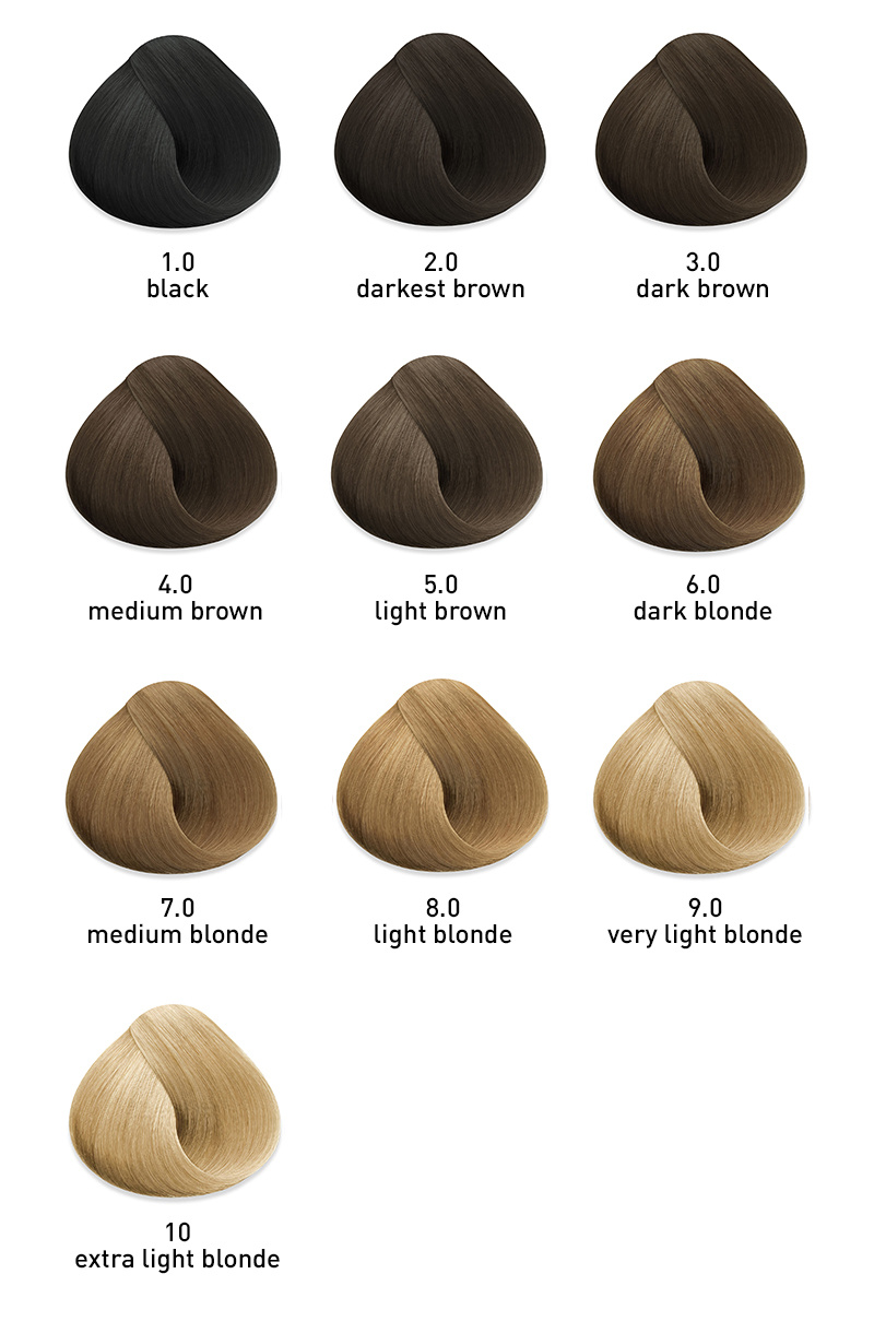 myuk hybrid cream hair color cool natural