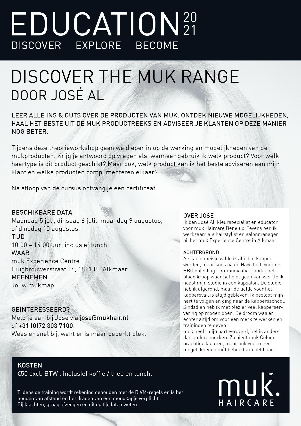 Discover the muk range. Leer alles over de producten van muk Haircare.