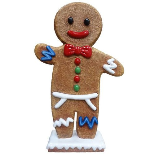 Polydeco Polyester gingerbread papa