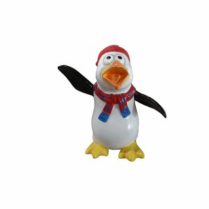 Polydeco Polyester komische pinguïn Jipper