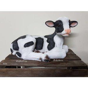 Polydeco Polystone koe kalf liggend