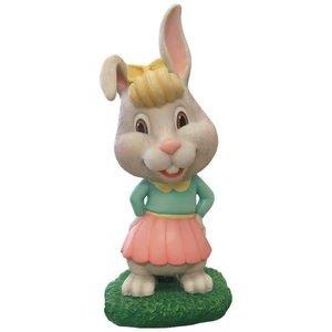 Polydeco Polyester konijn flufie