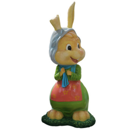 Polydeco Polyester konijn oma