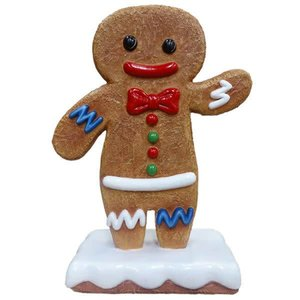 Polydeco Polyester gingerbread zoon