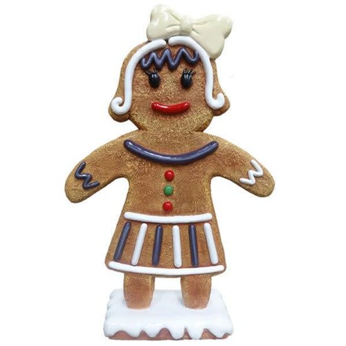 Polydeco Polyester gingerbread mama