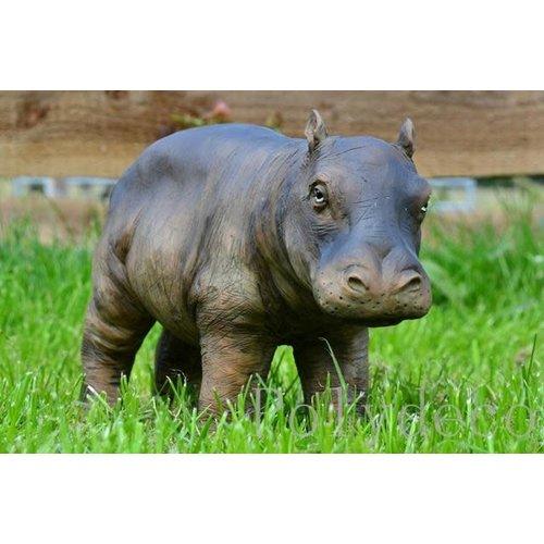 Polydeco Polyester nijlpaard staand