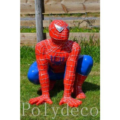 Polydeco Polyester spiderman gehurkt