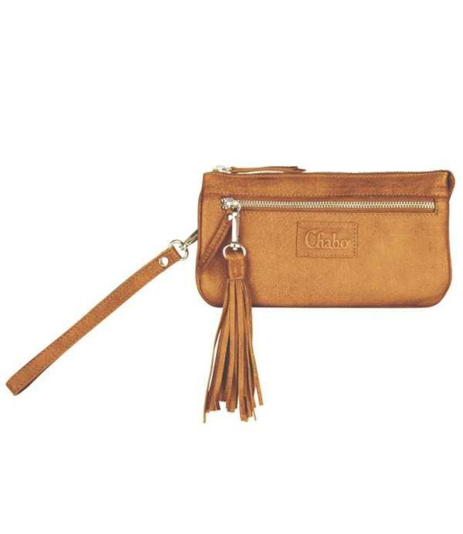 Chabo Bags Billy met leuke flos geel Indian Orcher