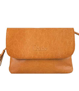 Chabo Bags Little Bink clutch handtas riemtas Indian Ocher