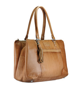 Chabo Bags Worker Ladies Laptopbag camel