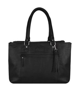 Chabo Bags Worker Ladies Laptopbag zwart