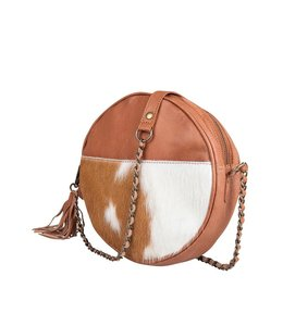 Chabo Bags Circle Bag  cow camel