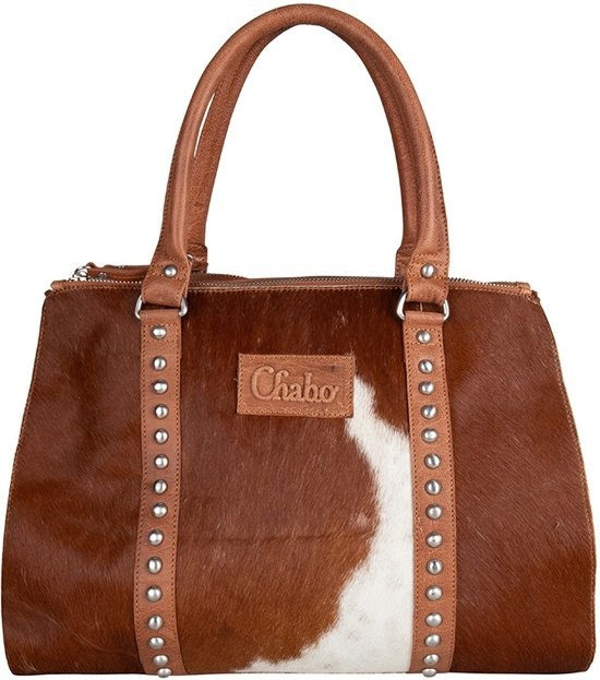 Chabo Bags Kit's Classic Cow  Bruin