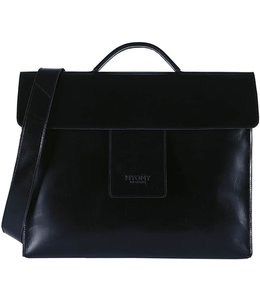 MYOMY MY HOME BAG Business bag Hunter Waxy Black