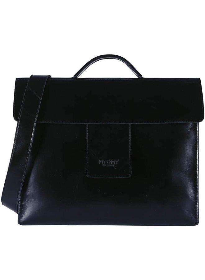 MHB Business bag Hunter Waxy Black