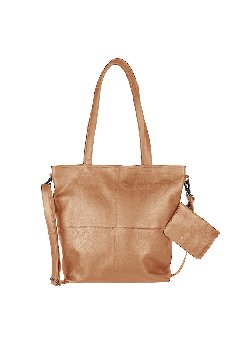 Chabo Bags Street OX Kate Shopper 14 inch Laptop Zand