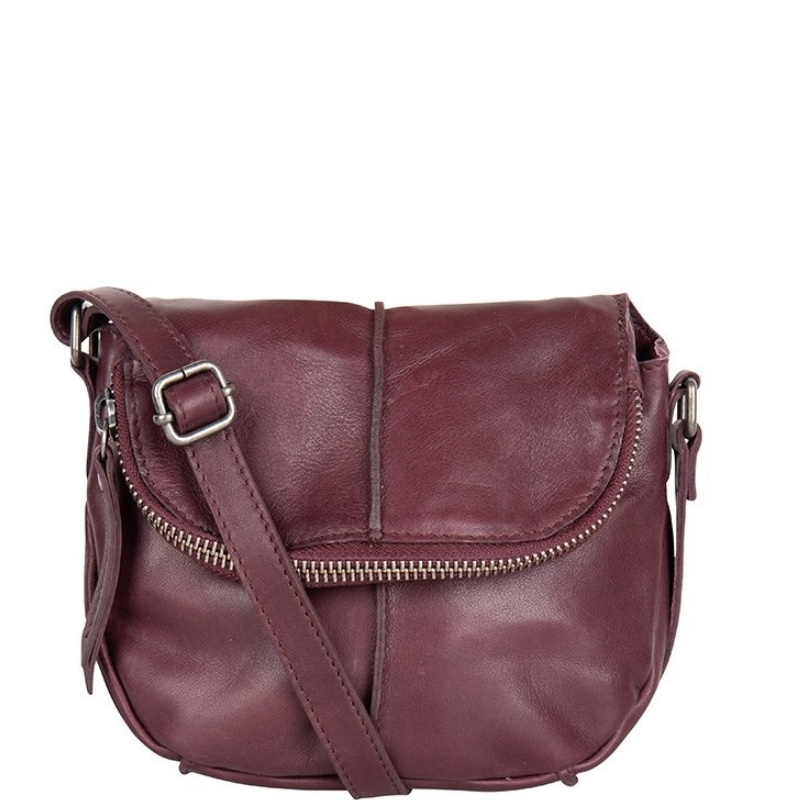 Chabo Bags Pepper Ox Small Aubergine