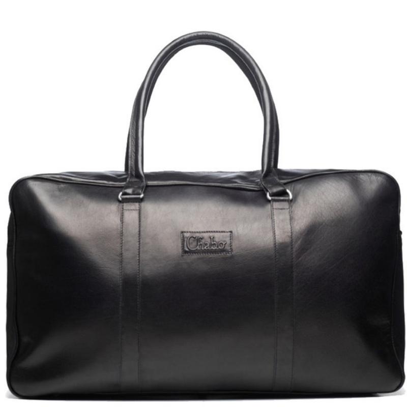 Chabo Bags Weekender Buffelleer Zwart