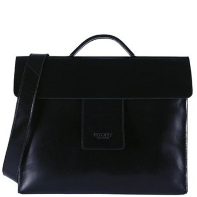 MYOMY MHB Business bag Hunter Waxy Black